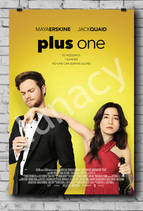 """Plus One"" Poster"