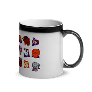 """Dogs of the 80's"" Magic Mug (Heat Changing)"