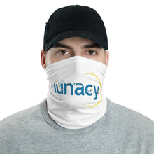 "Load image into Gallery viewer, ""Lunacy Letter Friends: Safety Tips"" Neck Gaiter (% of Proceeds to Trunacy)"