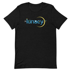 """Lunacy Letter Friends: Safety Tips"" T-Shirt (Dark) (% of Proceeds to Trunacy)"