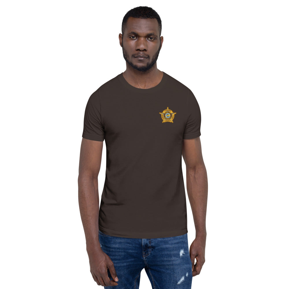 Fording County Sheriff's Department T-Shirt (Rust Creek)
