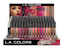 Load image into Gallery viewer, Matte Liquid Lip Color (CLG 401-418)