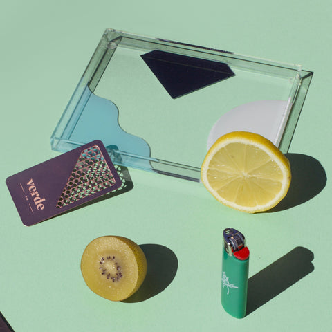 Verde Mini Acrylic Tray