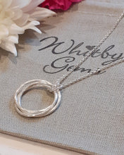 Load image into Gallery viewer, Triple band russian wedding band necklace