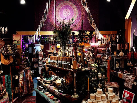 Bohemain Candle Newport Oregon magic gypsy