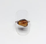 Polished Citrine Ring Size 9-1/2