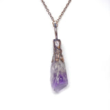 Elestial Amethyst Point Pendant