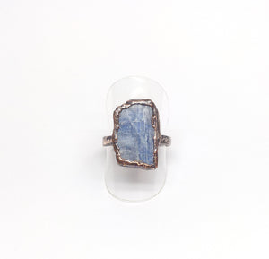 Blue Kyanite Ring Size 7-1/2