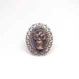 Filigree with Skull Ring Size 8