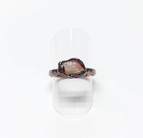 Raw Ethiopian Opal Ring Size 7