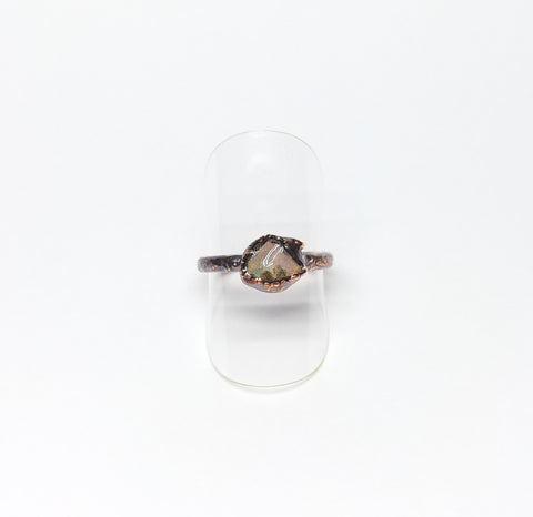 Raw Ethiopian Opal Ring Size 6-1/2
