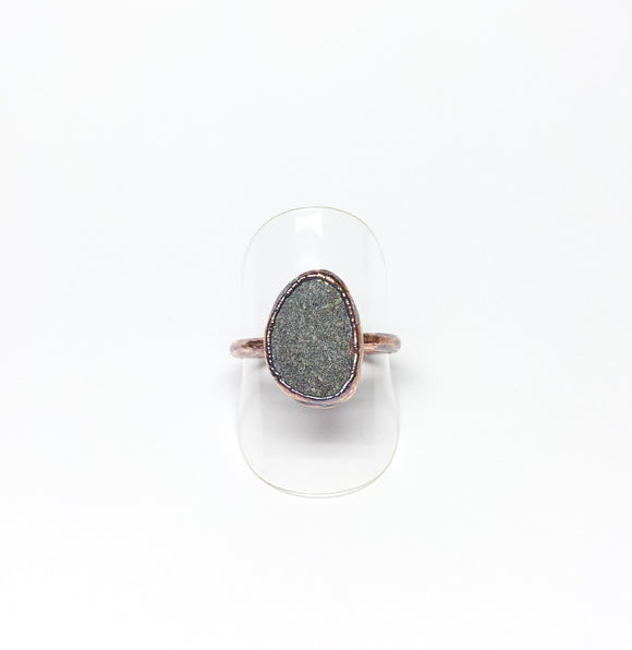 Oregon Beach Rock Ring Size 8-1/2