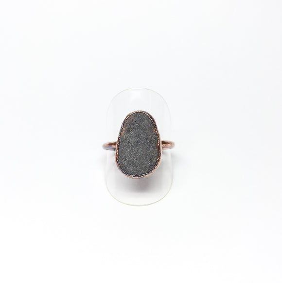 Oregon Beach Rock Ring Size 9-1/2