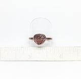 Raw Cherry Tanzurine Ring Size 9-1/2