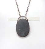 Large Oregon Beach Rock Pendant