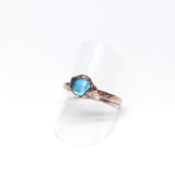 Tumbled Labradorite Ring Size 9-1/4