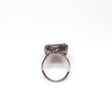 Raw Ruby w/ Record Keeper Ring Size 8-1/4