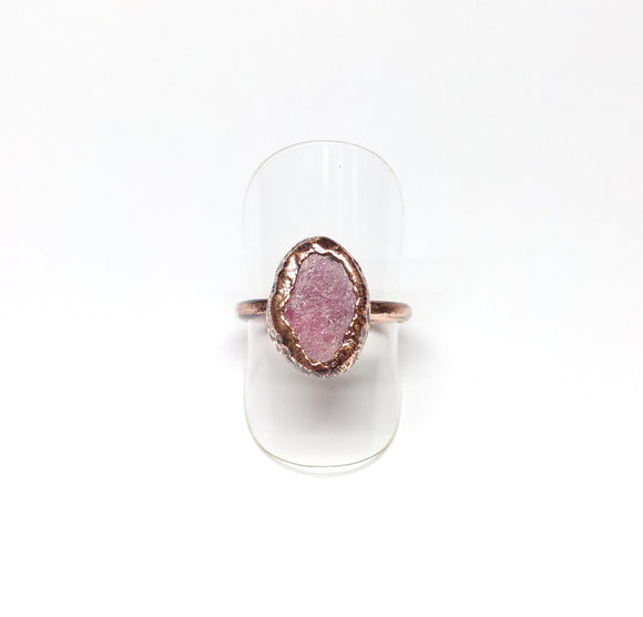 Raw Ruby Ring Size 7