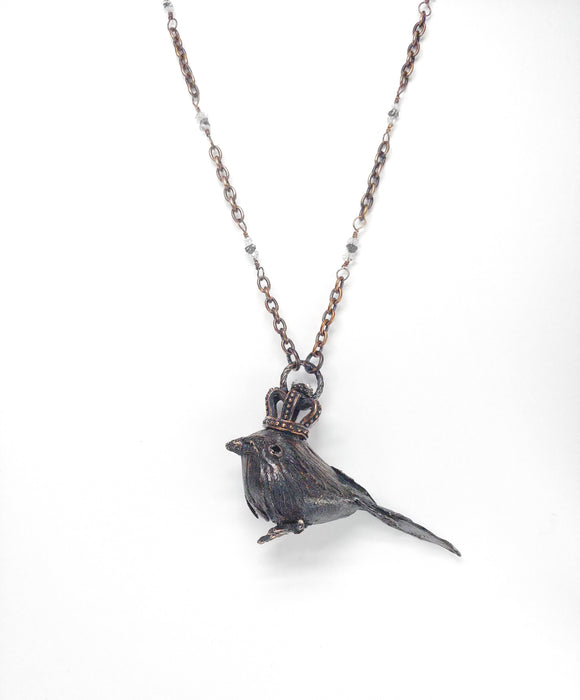 Queen of the Ravens w/ Herkimer and Black Diamonds