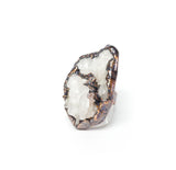 Crystal Quartz Cluster Statement Ring Size 10-1/4