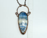 Turkish Blue Lace Onyx Pendant