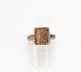 Aragonite Crystal Ring Size 5-3/4