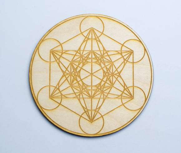 Metatron's Cube Crystal Grid