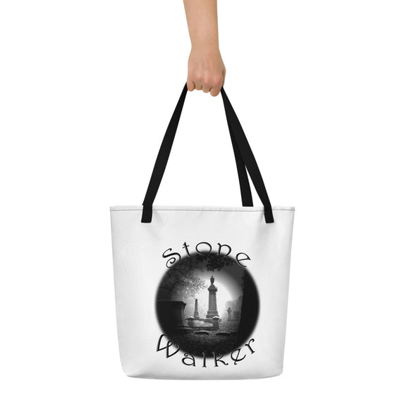 Stone Walker Round Beach Bag