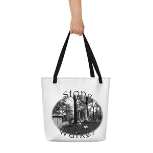 Stone Walker Oval Beach Bag