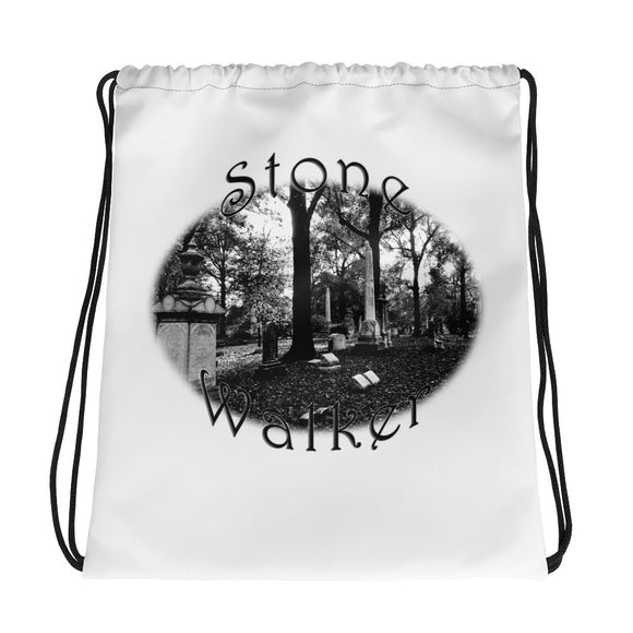 Stone Walker Oval Drawstring bag