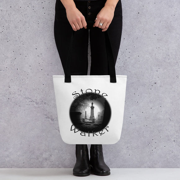 Stone Walker Round Tote bag