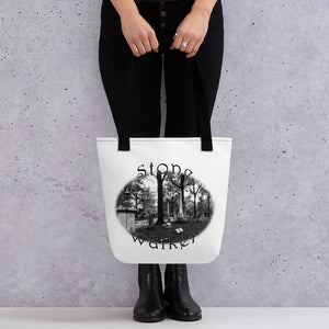 Stone Walker Oval Tote bag