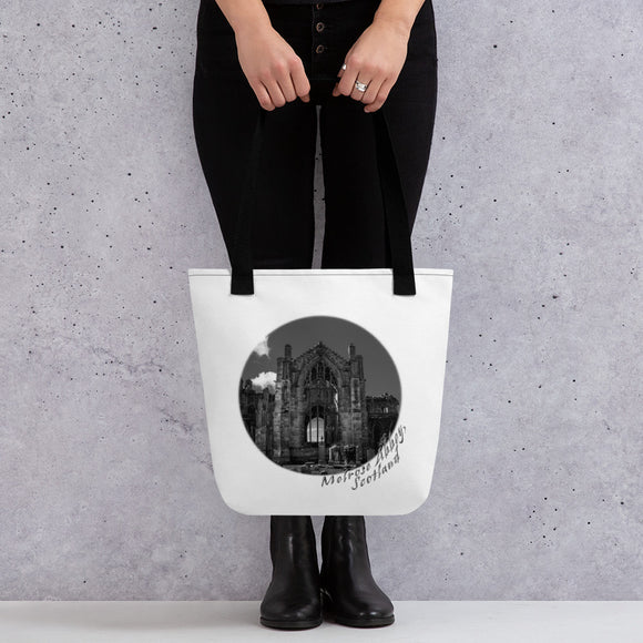 Melrose Abbey Scotland Tote bag