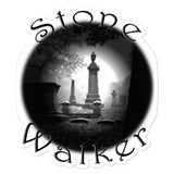 Stone Walker Round Bubble-free stickers