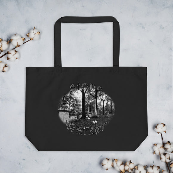 Stone Walker Oval Large organic tote bag