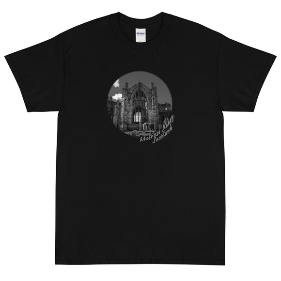 Melrose Abbey Scotland Short Sleeve T-Shirt