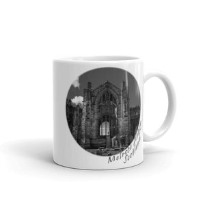 Melrose Abbey Scotland Mug