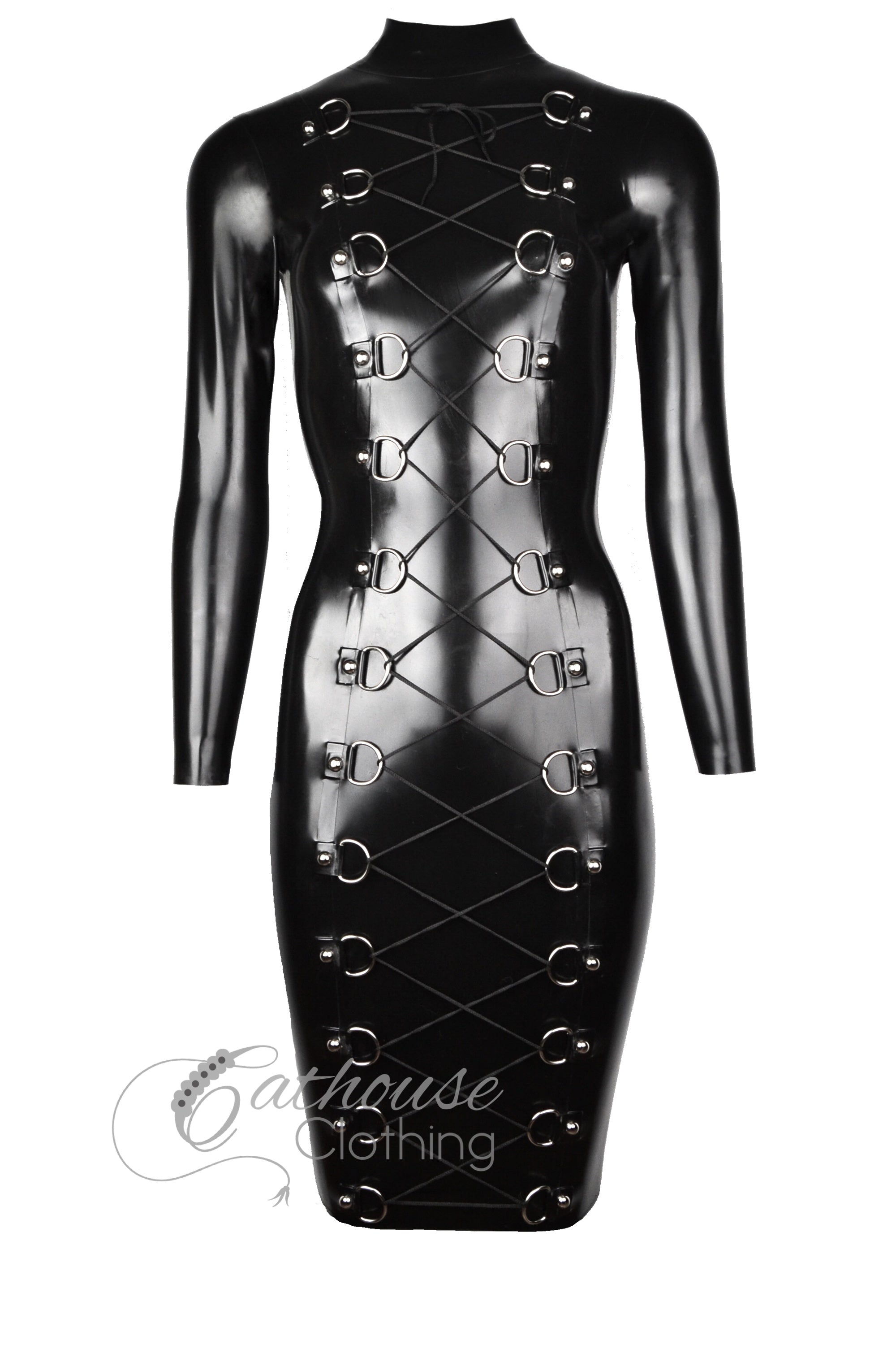 Domina laced dress