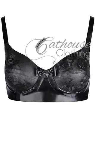 IN STOCK 32D Rose bra
