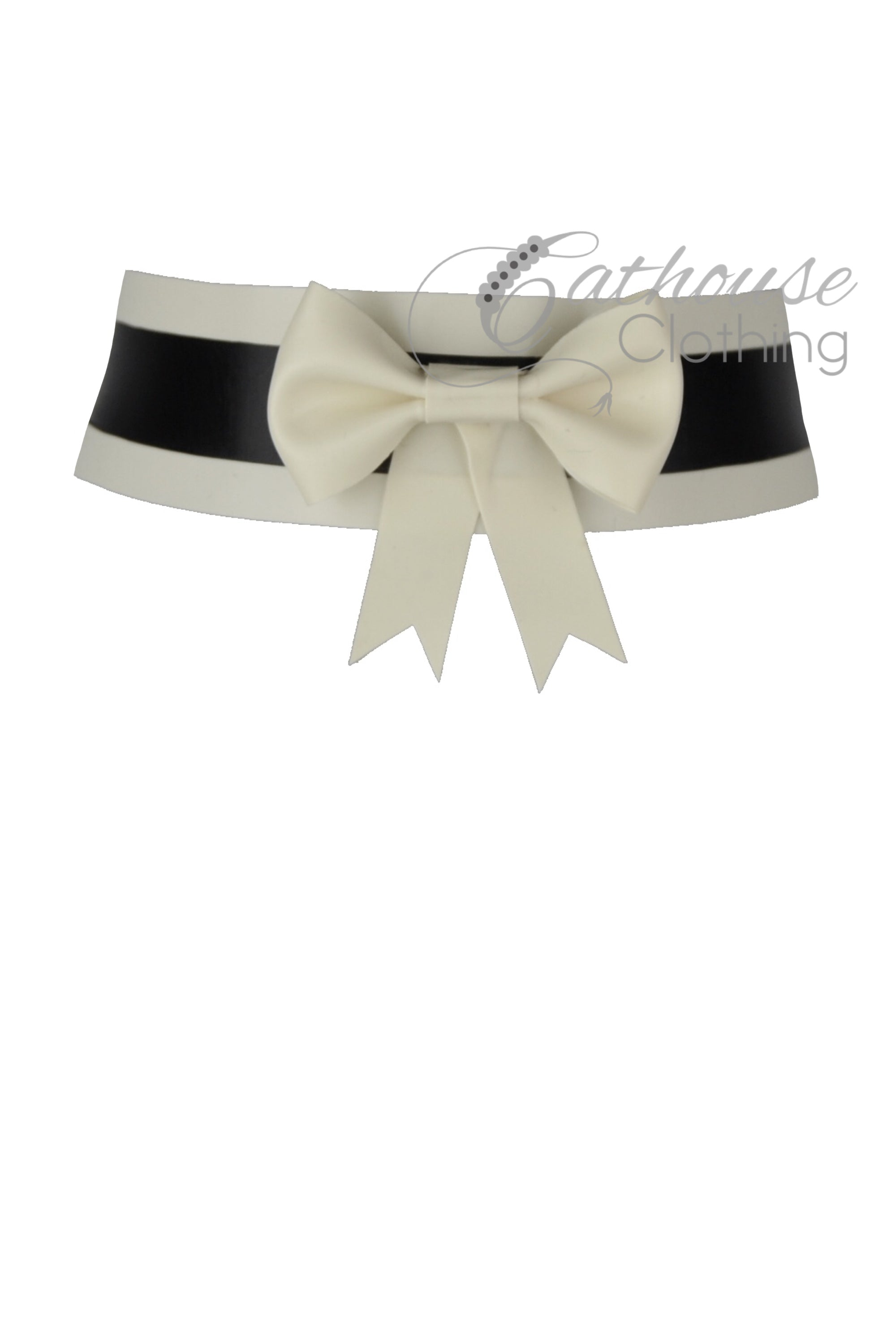 Maid bow collar