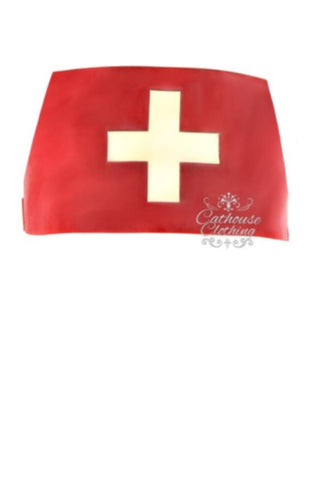 Latex nurse hat