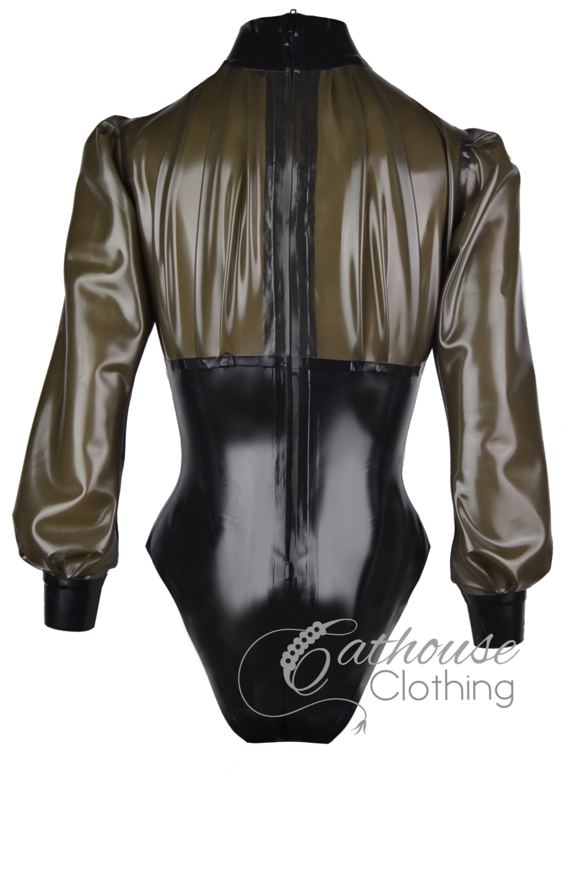 Desire latex playsuit