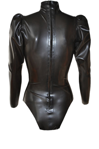 Maitresse latex playsuit