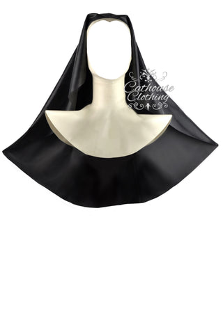 Latex nun hood