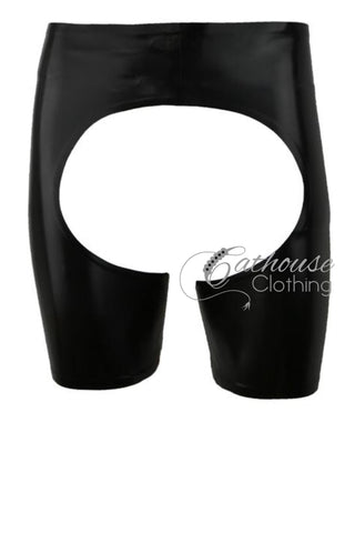 Men's Latex Chap Shorts