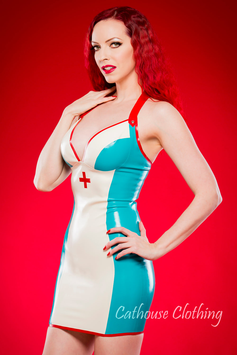 Sultry sister nurse dress