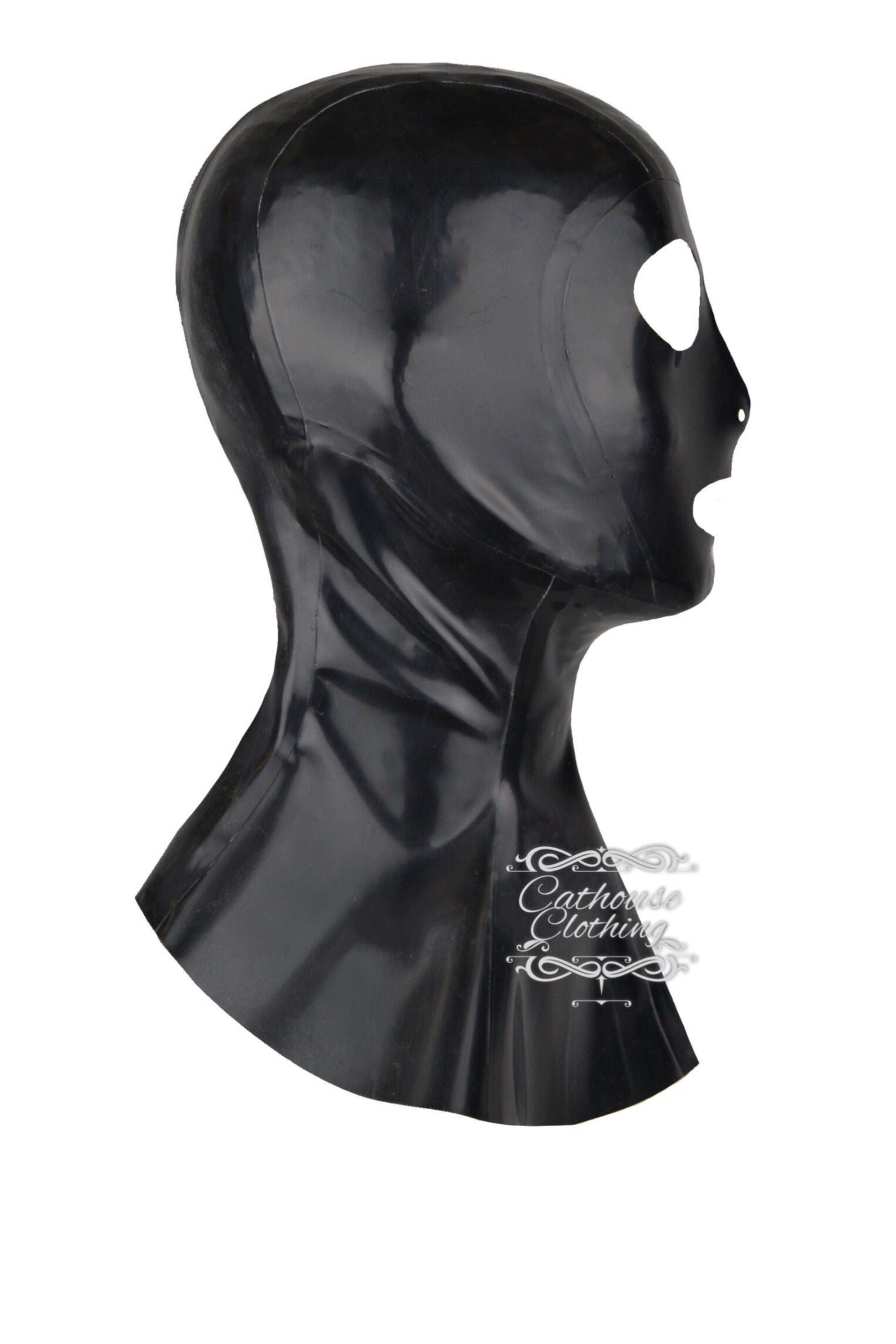 Latex hangman hood