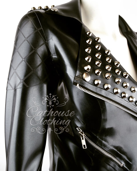 Latex Mercury biker jacket
