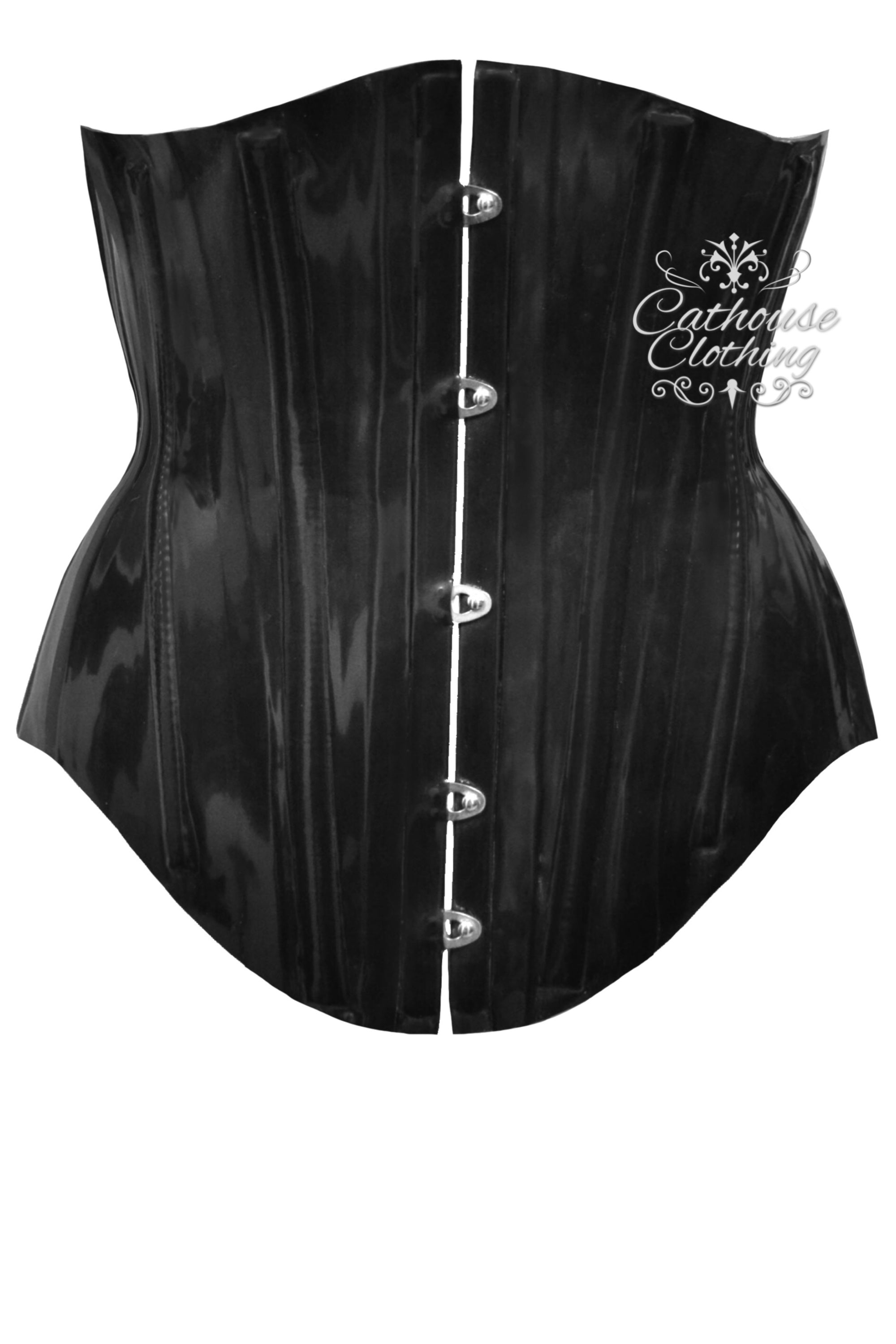 Latex Hourglass corset