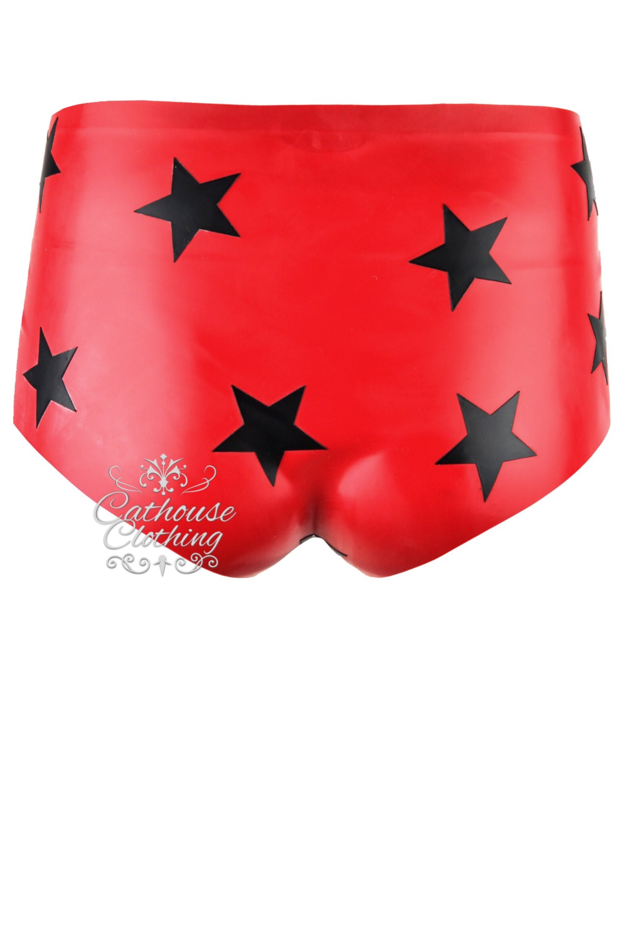 Latex star hotpants